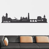 Wandtattoos: Dublin Skyline 2