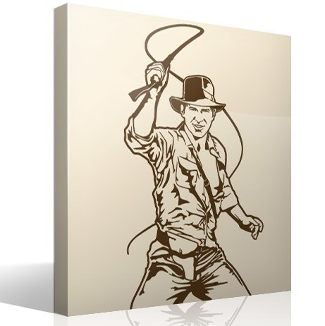 Wandtattoos: Indiana Jones