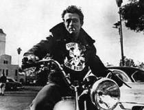 Wandtattoos: James Dean Motorrad 3