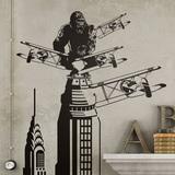 Wandtattoos: King Kong in New York 0