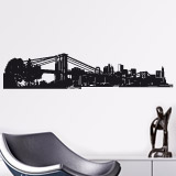 Wandtattoos: New York Skyline 2