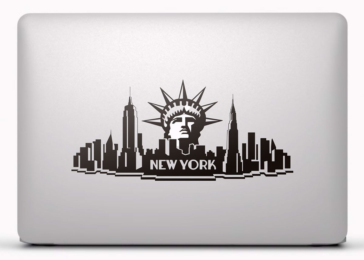 Aufkleber: New York City