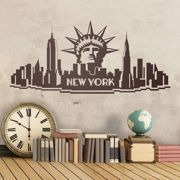 Wandtattoos: New York City