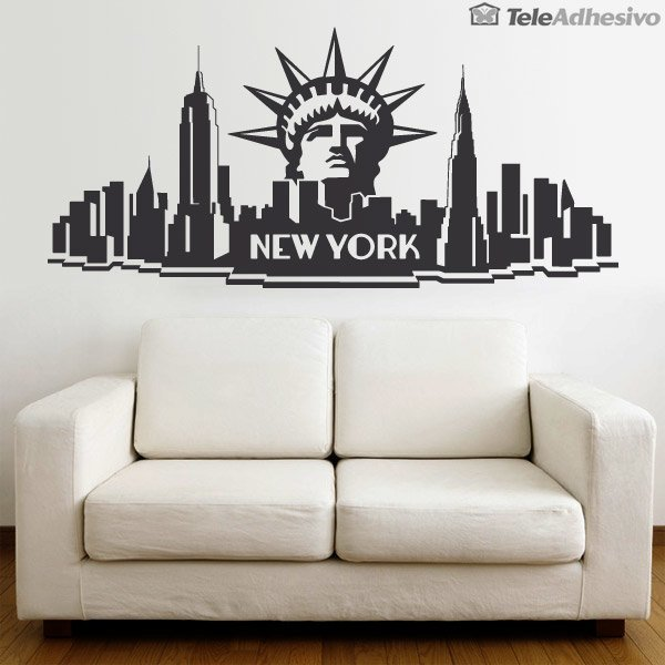 Wandtattoos: New York City