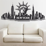 Wandtattoos: New York City 2