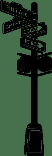 Aufkleber: Signal New York