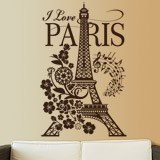 Wandtattoos: I Love Paris 2