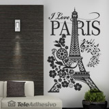 Wandtattoos: I Love Paris 3