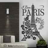 Wandtattoos: I Love Paris 2