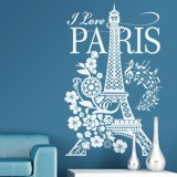 Wandtattoos: I Love Paris 5