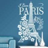 Wandtattoos: I Love Paris 4