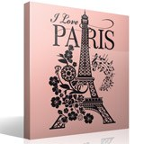 Wandtattoos: I Love Paris 6