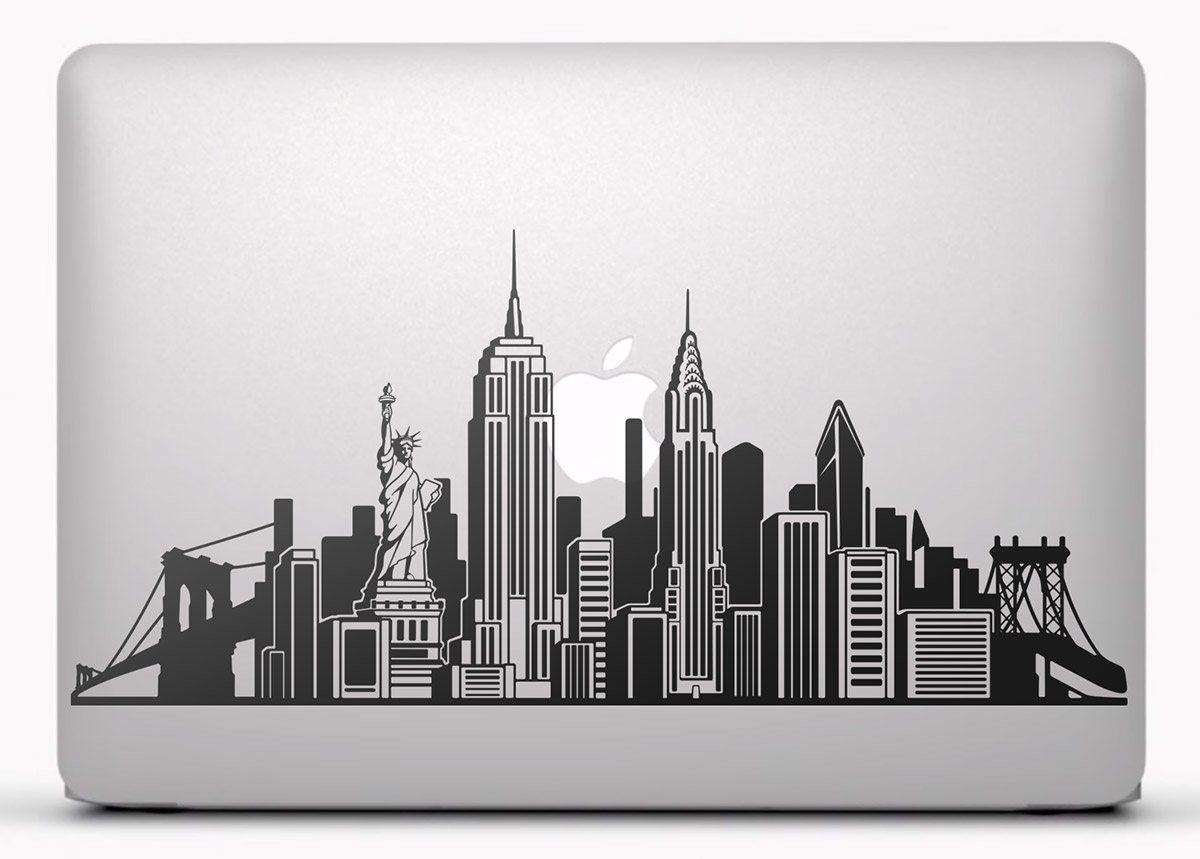 Aufkleber: Skyline von New York