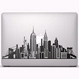 Aufkleber: Skyline von New York 2