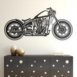 Wandtattoos: Harley Motorbike 0