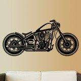 Wandtattoos: Harley Motorbike 3