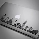 Aufkleber: Skyline von London 1