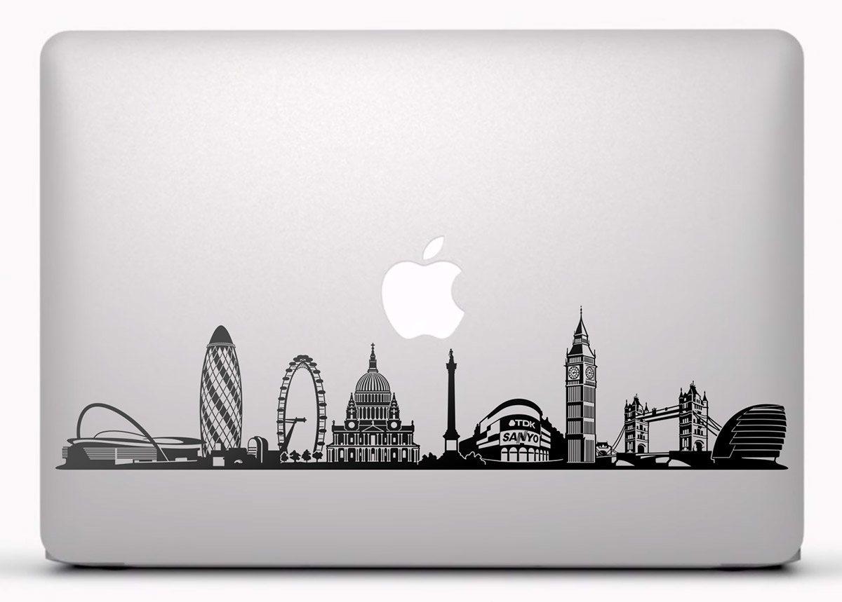 Aufkleber: Skyline von London