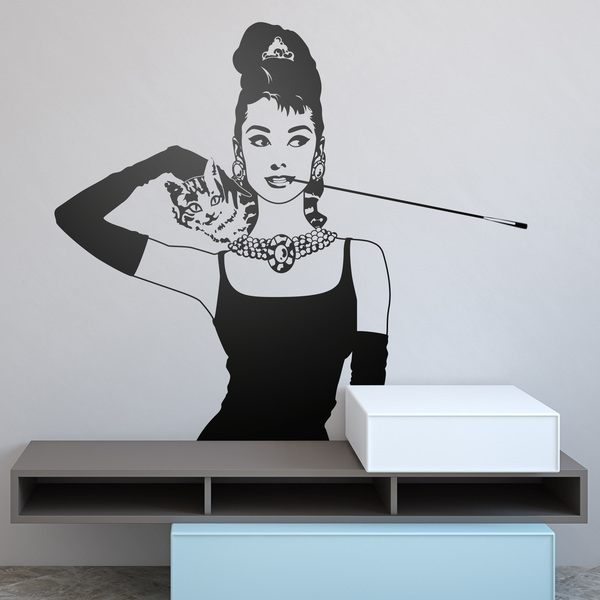 Wandtattoos: Audrey Breakfast