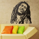 Wandtattoos: Bob Marley 0