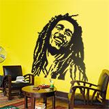 Wandtattoos: Bob Marley 3
