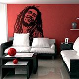 Wandtattoos: Bob Marley 5
