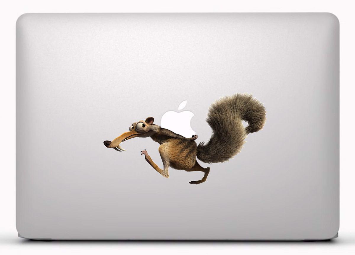 Aufkleber: Eichhörnchen Scrat