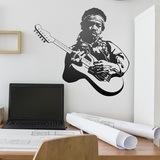 Wandtattoos: Jimi Hendrix 0