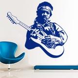 Wandtattoos: Jimi Hendrix 1