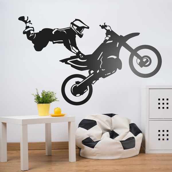 Wandtattoos: Freestyle motocross
