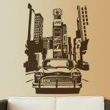 Wandtattoos: Taxi Nueva York 3