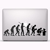 Aufkleber: Evolution 2