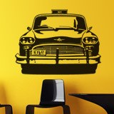 Wandtattoos: Checker Taxi 2