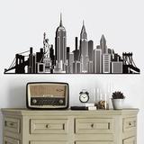 Wandtattoos: Icons Skyline NYC 0