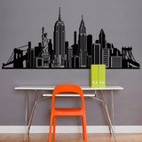 Wandtattoos: Skyline New York 5