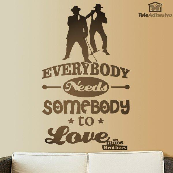 everybody love somebody: