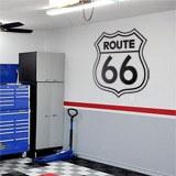 Wandtattoos: Route 66 Zeichen 2