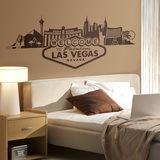 Wandtattoos: Las Vegas-Skyline 0