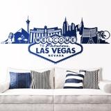 Wandtattoos: Las Vegas-Skyline 1