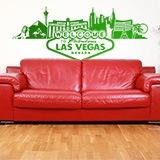 Wandtattoos: Las Vegas-Skyline 2