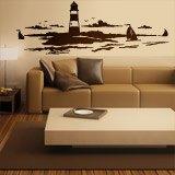 Wandtattoos: Lighthouse Maritime 1