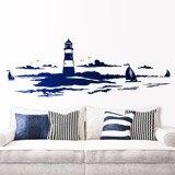 Wandtattoos: Lighthouse Maritime 3