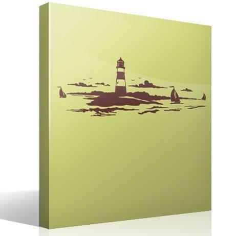Wandtattoos: Lighthouse Maritime