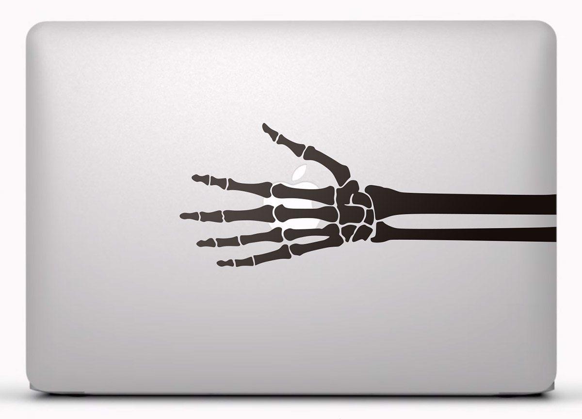 Aufkleber: Skelett eines Hand