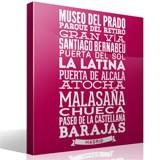 Wandtattoos: Typografische der Straßen von Madrid 7