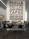 Wandtattoos: Gastronomie von Spanien 4