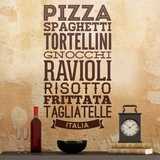 Wandtattoos: Gastronomie Italiens 0