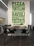 Wandtattoos: Gastronomie Italiens 4