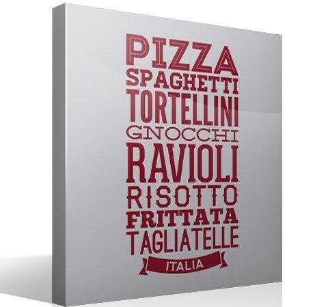 Wandtattoos: Gastronomie Italiens