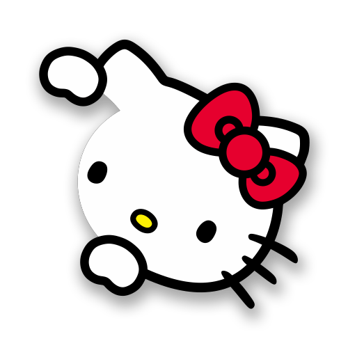 Aufkleber: Hello Kitty 2